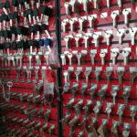 Mur de clés Amiens